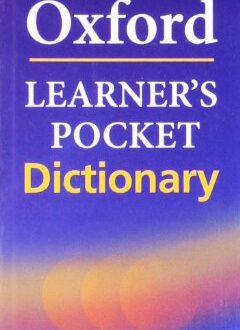 Oxford Learners Pocket English Dictionary: Student Book (Advanced)
