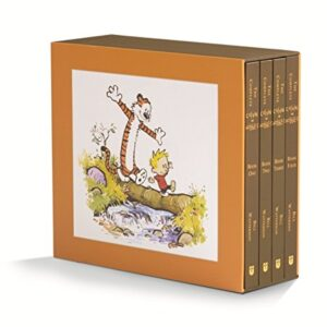 The Complete Calvin and Hobbes (Set of 4 Books)