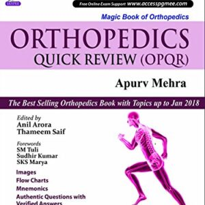 Orthopaedics Quick review 6ed 2018
