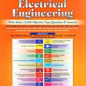 An Integrated Course in Electrical Engineering (With About 15,000 Objective Type Questions & Answers)