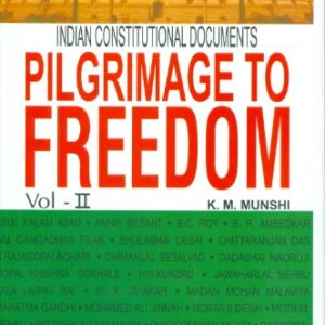 Pilgrimage To Freedom Vol . -ll