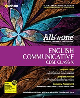 All in One ENGLISH COMMUNICATIVE CBSE Class 10th (based on textbook Literature Reader)