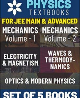 Understanding Physics for JEE Main & Advanced Set of 5 Books