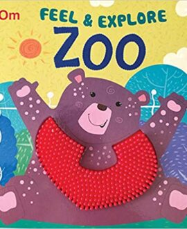 Board Book-Touch and Feel: Feel & Explore Zoo