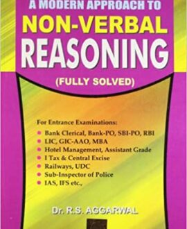 Modern Approach To Non-Verbal Reasoning