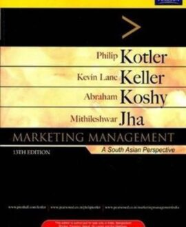 Marketing Management : A South Asian Perspective